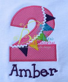2nd Birthday Raggy Banner Machine Embroidery Design $4 https://www.etsy.com/shop/BellaBleuMichigan?ref=search_shop_redirect