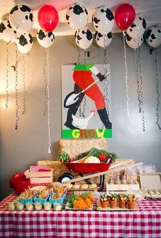 Veja nossa seleção com 50 fotos inspiradoras para decorar uma festa infantil com tema de fazendinha.