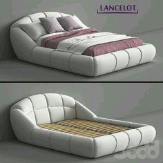Luxury Bedroom Design, Bedroom Bed Design, Home Room Design, Modern Bedroom Furniture, Sofa Furniture, Furniture Design, Sofa Design, Smart Bed, Comfy Bedroom