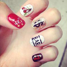 Vegas nails!  #fabulousfurball and #spcaoftexas