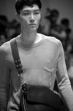 www.soupmagazine.com  #SoupDigital Milan Men's Fashion Week, Mens Fashion Week, Ermanno Scervino, John Varvatos, Mens Tops, T Shirt, Black, Supreme T Shirt, Tee Shirt