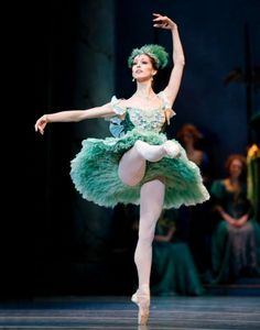 Maria Chapman as the Fairy of Purity in The Sleeping Beauty.  Photo © Angela Sterling.