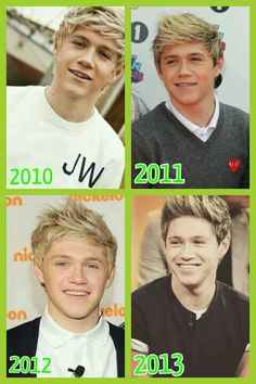 Niall Horan 2010-2013! FLASHBACK TIME! I Swear this guy is the most beautiful guy in the entire world!!!!!!! AHHHHHHHH THE FEELS ARE KILLING ME
