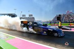 Jack Beckman and Team At the 2015 Fall Nationals racing at the Texas Motorplex in the Infinite Hero Nitro F/C