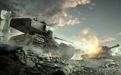 Download wallpapers World of Tanks, E 100, AMX 50 B, French tank, World War II online game, WoT