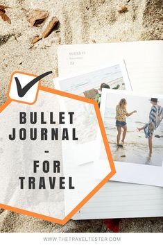Here are creative Travel Bullet Journal ideas for you to organise and enrich your life! From planning to keeping track of souvenirs, just be creative! Bullet Journal Font, Bullet Journal How To Start A, Bullet Journal Vacation, Bullet Journals, Daily Life Hacks, Travel Crafts, Journal Template, Business Planner, Travel Scrapbook