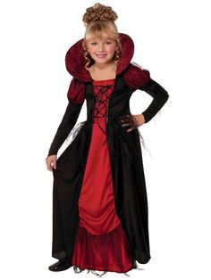 The Girls Vampiress Queen Costume is the perfect 2019 Halloween costume for you. Show off your Girls costume and impress your friends with this top quality selection from Costume SuperCenter! Costume Halloween, Girls Vampire Costume, Wholesale Halloween Costumes, Vampire Costumes, Halloween Costumes For Girls, Halloween Fancy Dress, Girl Costumes, Adult Costumes, Costume Ideas
