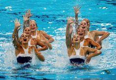 Galeria - Mestres da natação sincronizada