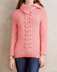 Anthropologie Cabled Vines Pullover Sweater $198 From Twinkle by Wenlan Sz M NWT #Anthropologie #Pullover