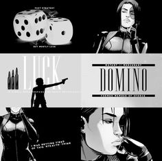 Domino aesthetic #marvel