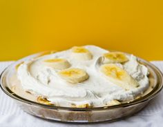 Vegan Banana Cream Pie! And a story..