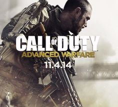 Call Of Duty: Advanced Warfare comes out 11.4.14, but for me...11.3.14 WAR IS HERE AGAIN!