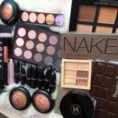 MAC Cosmetics, Urban Decay, NYX, Too Faced, Chanel