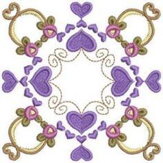 Rose Heart Blocks