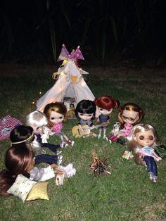 Acampamento das meninas ❤️