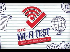 KFC: The WiFi Test Campaign|KFC free wifi to students by answering right to get access, so to encourage the students test score