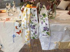 IRENE BI #Tovaglie#realizzatesumisura#tessuto#lino#cotone #Biancheriaperlacasa# www.irenebi.it realizzazione Irene Bi di Irene Brigolin