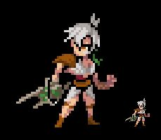 Sprite - League of Legends - Riven by Eviscus