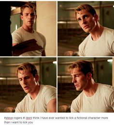 He's certainly taken us to…some places. And some jawlines. | 23 Times Tumblr's Love For Captain America Got It Right
