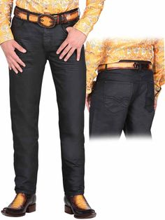 34953 Pantalon Caballero El General Hugo Boss, Black Jeans, Suits, Fashion, Western Wear, Rompers, Knights, Shirts, Pants