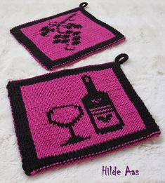 Ravelry: Hilde's Gryteklut pattern by H-Strikk Diy And Crafts, Arts And Crafts, Double Knitting, Washing Clothes, Mittens, Pot Holders, Ravelry, Knitting Patterns, Knit Crochet
