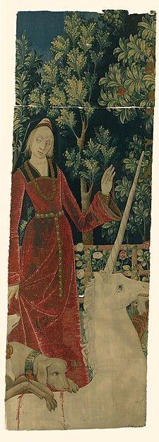 The Mystic Capture of the Unicorn (from the Unicorn Tapestries), 1495–1505. South Netherlandish. The Metropolitan Museum of Art, New York. Gift of John D. Rockefeller Jr., 1938 (38.51.2)