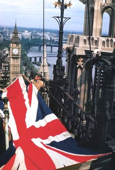 Love London! And love their flag!