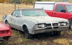 Would you restore this rag-top Oldsmobile or buy one already done? #Oldsmobile