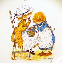 Happiness Is Meant to Be Shared , holly hobbie
