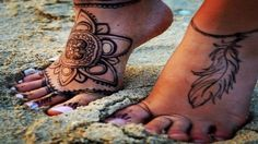 The Best Collection Tattoos For Your Feet 2016-2017 - 20 Traditional Tat...
