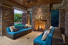 Patio Stone Fireplace Fireplace surrounds in marble, wood and tile designs for modern, rustic and period homes. Fireplace ideas and designs from katydidandkid archive. Outdoor Fireplace Brick, Outdoor Fireplace Designs, Fireplace Garden, Modern Fireplace, Outdoor Fireplaces, Fireplace Ideas Without Fire, Front Porch Design, Porch Designs, Deck Design