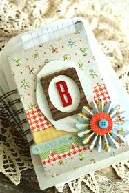 A Delightful Waste of Time: Scrapbook Sunday - Baby Book...