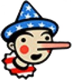 The Washington Post Fact Checker assigns Pinocchios to politician comments as a way of showing how truthful they are.