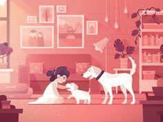 Kid friendly dog by DAN Gartman
