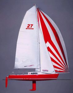 With its innovative design, the Antrim 27 is perfect for the weekend sailing enthusiast who demands both the performance of a sportboat and the overnight cruising comforts found on larger boats. Sailboat, Innovation Design, Boats, Sailing, Larger, Model, Sailing Ships, Ships, Sailing Boat