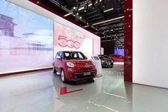 #Fiat #500L at 65th International Motor Show IAA 2013 in Frankfurt