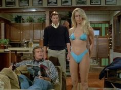 Heather Thomas and Lee Majors.