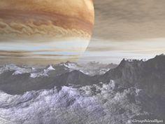 Jupiter from Europa .