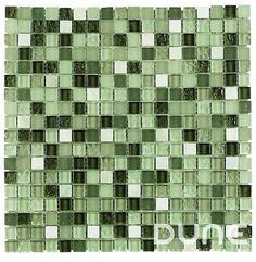 """JADE 29,3x29,3 cm./ 11,54""""x11,54"""" Mosaico elaborado con mármoles y cristales en tonalidades verdosas. #duneceramica #diseño #calidad #diferenciacion #creatividad #innovacion  #tendencia #moda #decoracion #design #quality #differentiation #creativity #innovation #trend #fashion #decoration"""