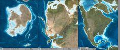 North American key time-slice paleogeographic maps