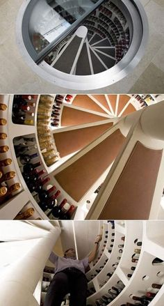ゝ。Winding Staircase Storage