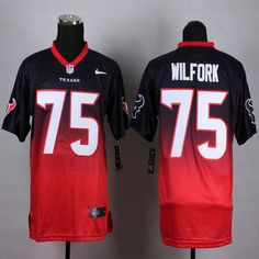 Men s NFL Houston Texans  75 Wilfork Drift Fashion Jersey 55f665390