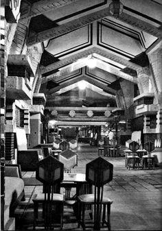 Frank Lloyd Wright, Imperial Hotel, Tokyo.