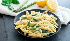 Erfrischende Spargel-Pasta