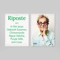 Sharp women's magazine Riposte returns after successful inaugural edition...  http://www.weheart.co.uk/2014/06/25/riposte-magazine-issue-2/