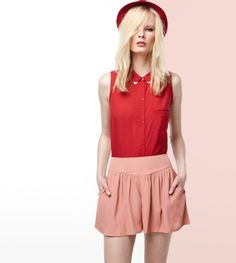 #falda #bershka salmon #compraropa