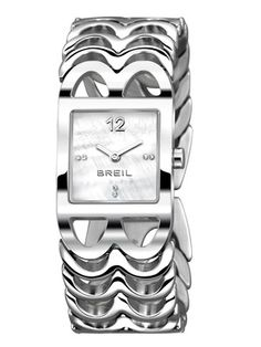 Breil Women's Stainless Steel & Mother Of Pearl Watch