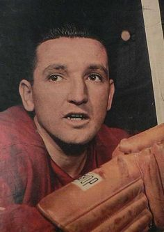 Sid Abel (1918 - 2000) Hall of Fame hockey player and manager for the Detroit Red Wings of the NHL