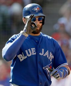 Toronto Blue Jays center fielder Kevin Pillar (11) celebrates his home run against the Texas Rangers during the second inning in Game 4 of baseball's American League Division Series in Arlington, Texas, Monday, Oct. 12, 2015. (AP / LM Otero)