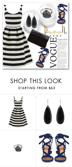 """""""Presh Shop 6/I"""" by amra-mak ❤ liked on Polyvore featuring Warehouse, Gianvito Rossi and preshshop"""